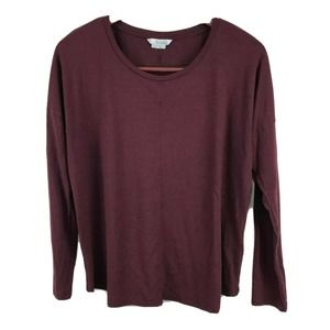 Boden Womens Shirt  Scoopneck Top Blouse